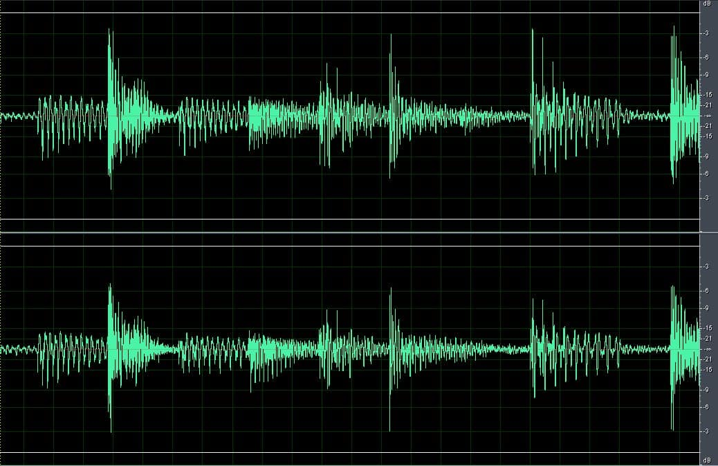 Sound-analyse Audio in Video Evidence