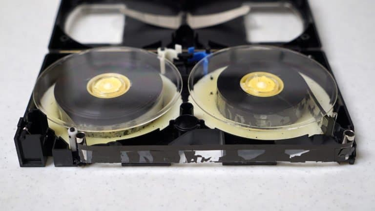 vhs cassette tape restoration